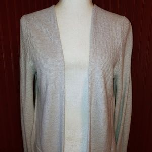 Lucky Vented Open Cardigan Sweater S